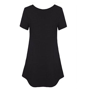 Woman Plain With Pockate T-Shirts