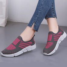 Color Block  Flat  Cotton  Round Toe  Casual Sneakers