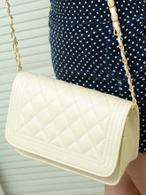 Fashion Small Fragrance Rhombic Chain Bag