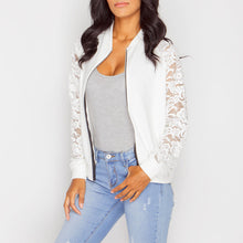 Fashion Lace Woman Daily Jackets