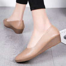 Plain  Low Heeled  Round Toe  Basic Comfort Flats