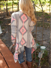 Printed  Long Sleeve Cardigans