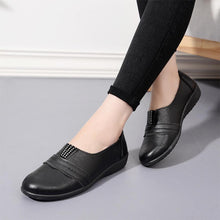 Plain  Low Heeled  Round Toe  Date Comfort Flats