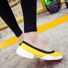 Shallow Mouth Comfort Shoes Non-Slip Casual Egg Roll Flat & Loafers