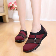 Female Low Heel Patchwork Soft Bottom Casual Sneakers