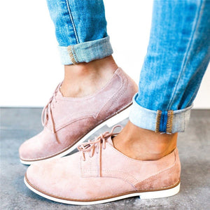 Plain  Flat  Velvet  Criss Cross  Round Toe  Casual Outdoor Comfort Flats