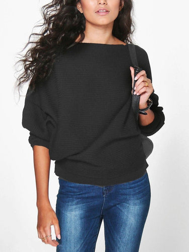 Thread Loose Solid Color T-Shirt