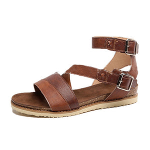Flat Peep Toe Casual  Flat Sandals