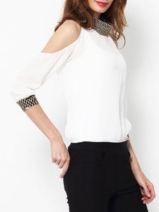 Plain Solid Long Sleeve T-Shirt