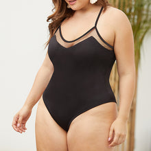 Sex Sexy Low Chest Back Big Size Swimsuit With Yarn Splicing
