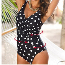 Ruched Deep V-Neck Solid One Piece