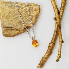 Avant Jewellery gold necklace ethical gems