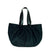 Vegan Camille Velvet Hobo Bag - Black - Veenofs