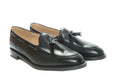Mens Vegan Shoes - Tassel Loafer (Black) - Vyom London | Quality Vegan Footwear
