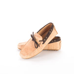 Liores Cork Moccasin For Man With Suede (Beige) - Veenofs
