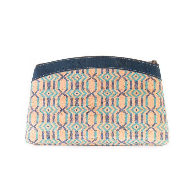 Liores Cork Purse - Blue - Veenofs