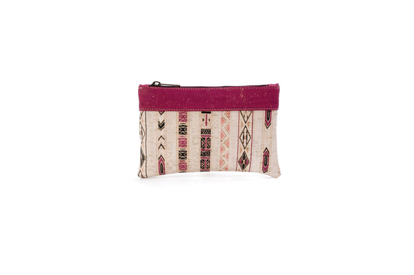 Liores Cork Bicolor Purse - White Lilac - Veenofs