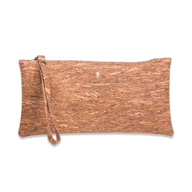 Liores Cork Wristlet - Golden Brown - Veenofs