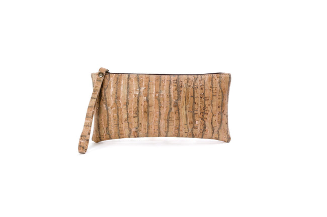 Liores Cork Wristlet - Blue Copper - Veenofs
