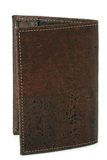 Liores Cork Passport Cover - Chocolate Brown - Veenofs