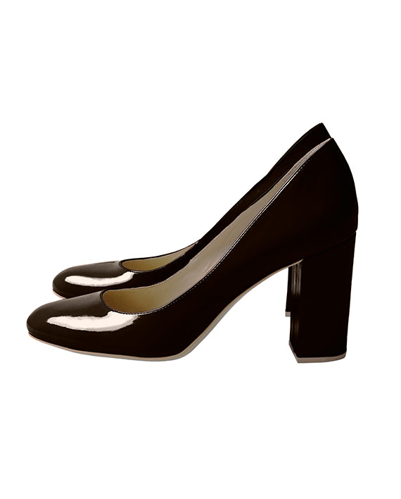 Patricia Correia Air Block Heel - Chocolate - Veenofs
