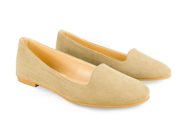 Vegan Fera Libens Vesta Loafers - Light Taupe - Veenofs