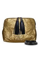 Camille Crossbody Bag Piñatex Gold - Veenofs
