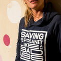 Recycled clothing, recycled polyester, ethical clothing, sustainable clothing, vegan clothing, save the planet, vegan slogan, love gang store, love gang