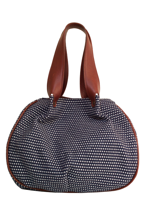 Vegan Camille Hobo Bag Blue - Veenofs