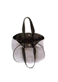 Vegan Camille Hobo Bag Black and White - Veenofs