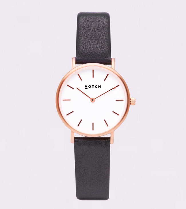 Votch The Dark Grey And Rose Gold Petite