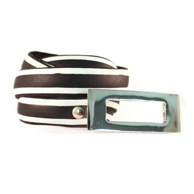 Vegan Laura Zabo Whiteflash Bicycle Tire Belt - Veenofs