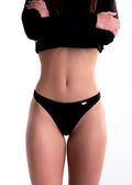 Fairpants Women's Thong - Deep Black