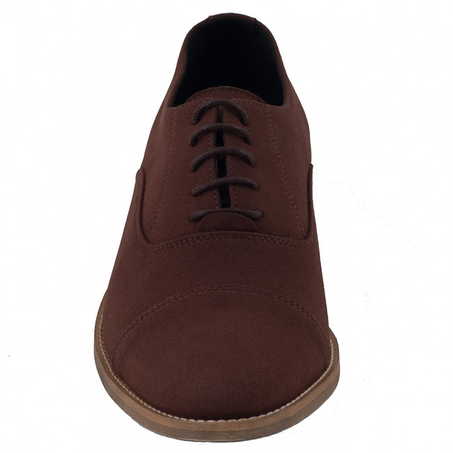 Nae Oliver Derby Shoe - Brown - Veenofs