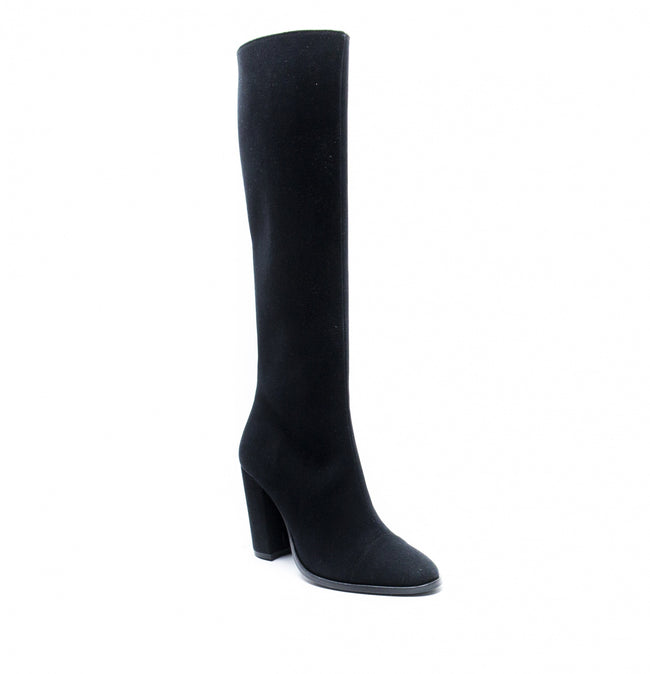 Nae Chere Knee High Vegan Boots - Black - Veenofs