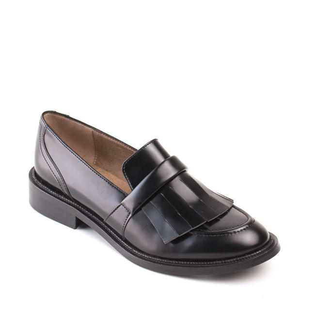Nae Brina Loafer Vegan Shoes - Black - Veenofs