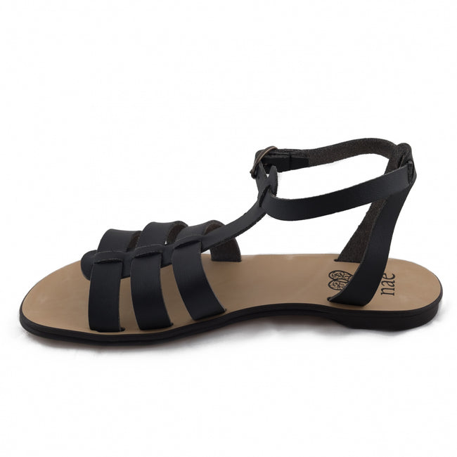 Nae Doria Vegan Sandals - Black - Veenofs