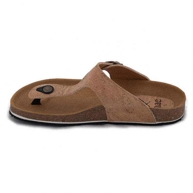 Nae Kos Vegan Sandals - Cork - Veenofs