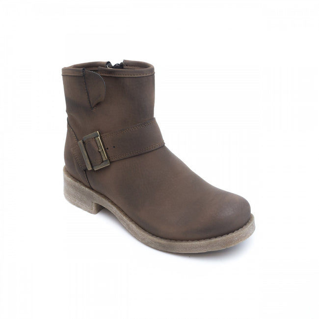 Nae June Vegan Boots - Brown - Veenofs