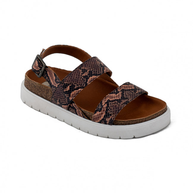 Nae Naja Vegan Sandals - White - Veenofs