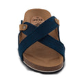 Nae Paxos Vegan Sandals - Blue - Veenofs
