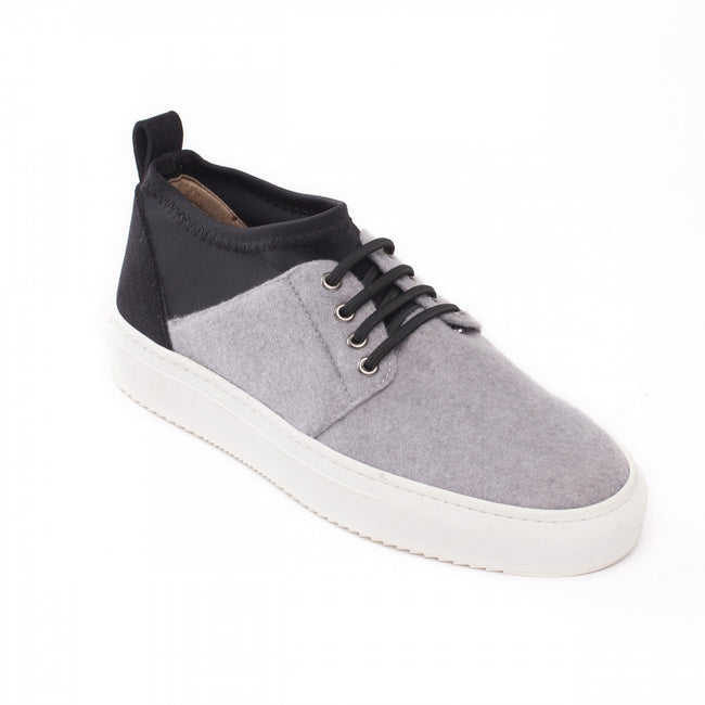Nae Re-PET Vegan Sneakers - Grey - Veenofs