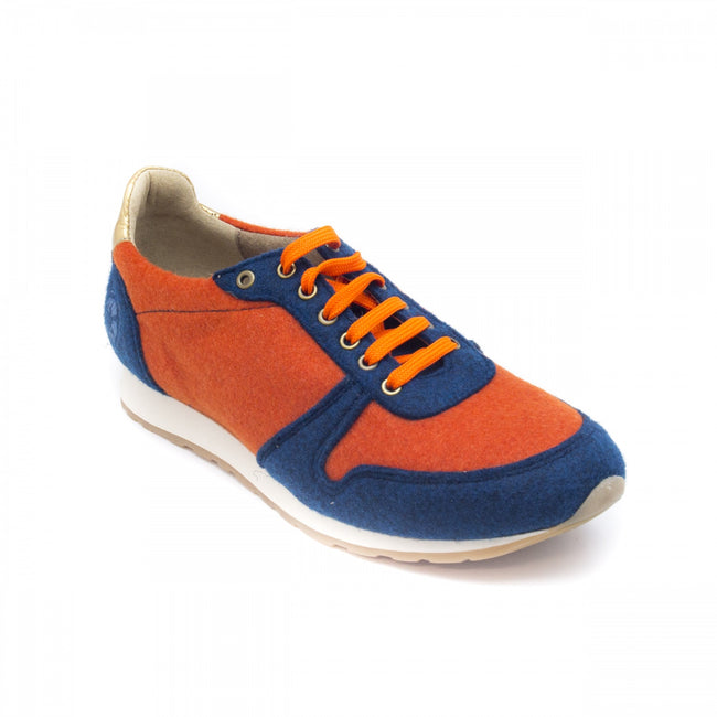 Nae Re-Bottle Vegan Trainers - Orange - Veenofs