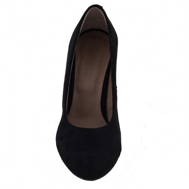 Nae Taina Court Shoes - Black - Veenofs