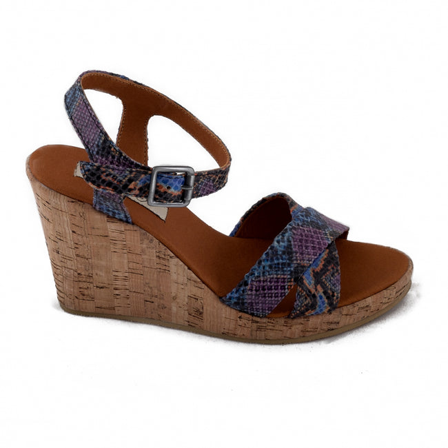 Nae Mikobra Open Toe Wedge Vegan Sandals - Veenofs