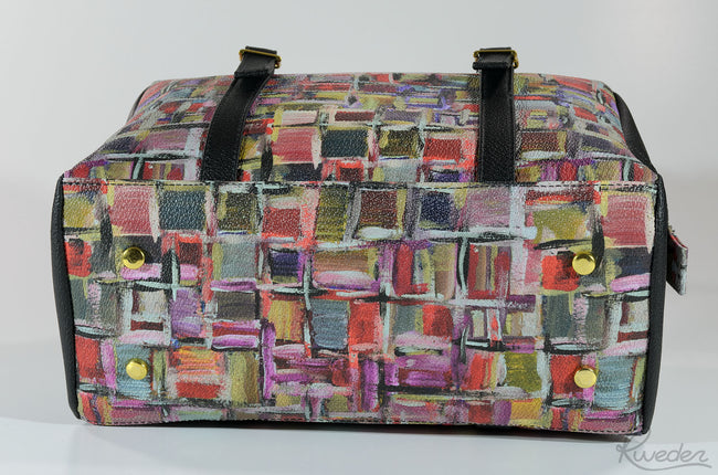 Vegan Kweder Cassatella Boston Bag - Veenofs