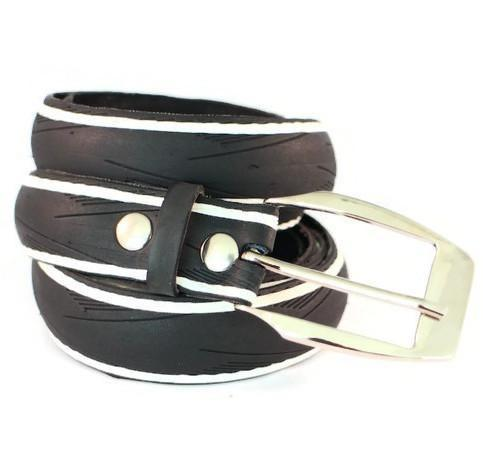 Vegan Laura Zabo Laser White Bicycle Tire Belt - Veenofs