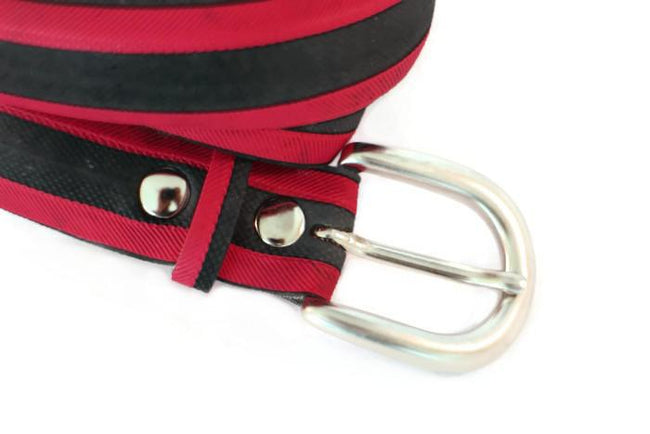 Vegan Laura Zabo Rouge Bicycle Tire Belt - Veenofs