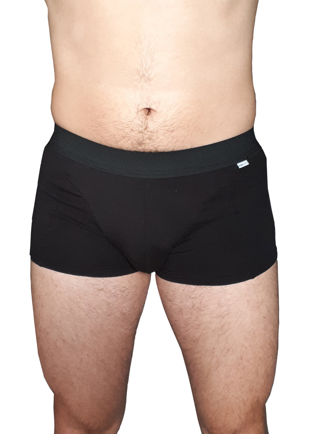 Vegan FAIRPANTS Boxers - Very Black - Veenofs