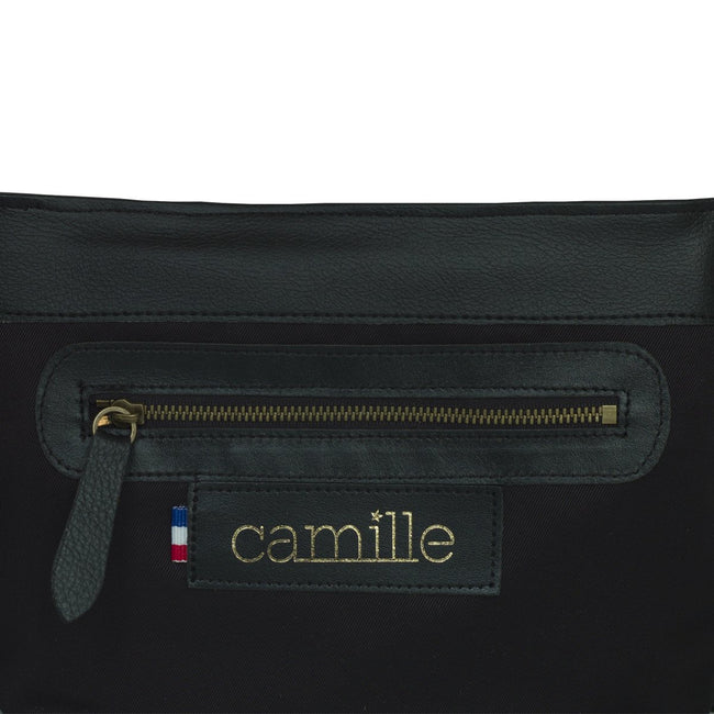 Vegan Camille Andaman Shoulder Bag - Black - Veenofs